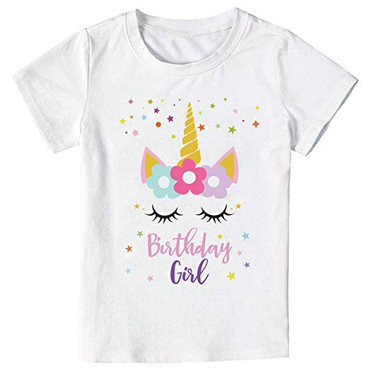Amazon Com  Unicorn Birthday Star T