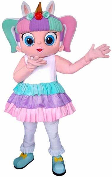 Amazon Com  Unicorn Character Doll Surprise Mascot Costume Cosplay