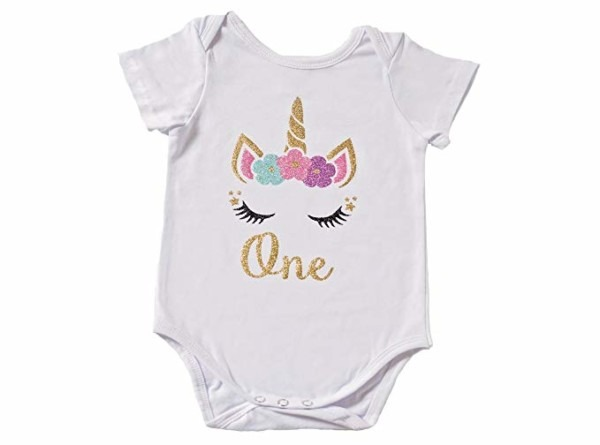 Unicorn 1st Birthday Shirt