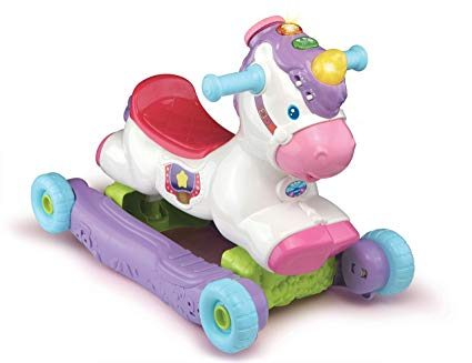 Amazon Com  Vttech Rock & Ride Unicorn  Toys & Games