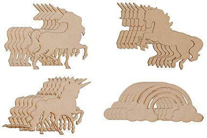 Amazon Com  Wood Cutouts