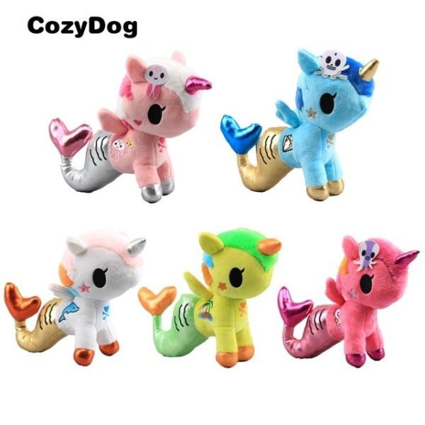 Anime Mermaid Unicorn Plush Toy Doll Soft Stuffed Animals Unicorn