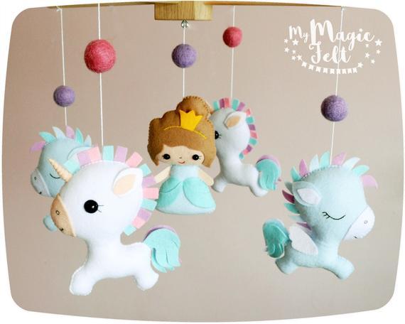 Unicorn Baby Mobile