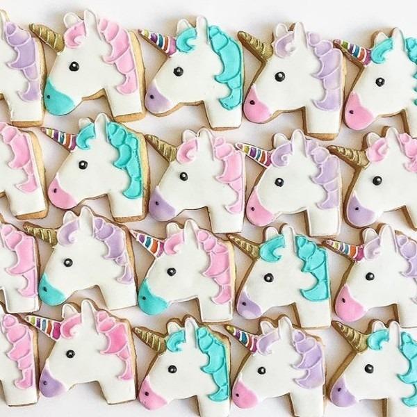 Bakedideas Always Kills It With The Unicorn Emoji Cookies!!!! So