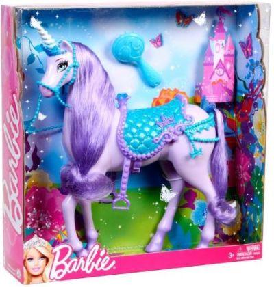 Barbie Barbie Princess Unicorn (purple) Box   X0383 Value And Details