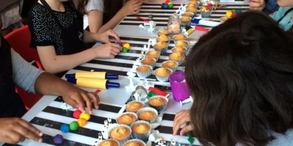 Bkd Kids Unicorn & Rainbow Cupcake Class (baking) In London