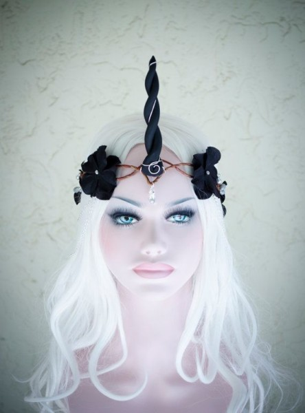 Black Unicorn Crown