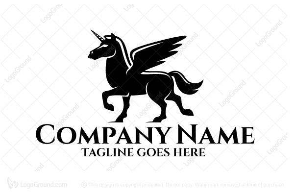 Black Unicorn Logo