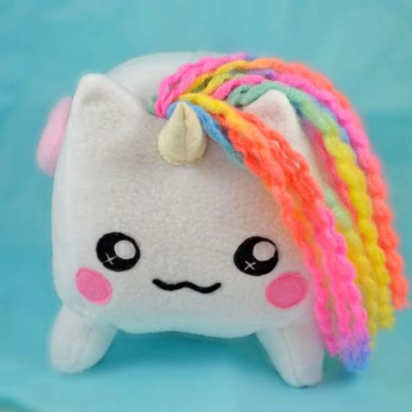 Bruce, The Fluffy Unicorn Big Plush Toy , Pony Loaf Cube Horse
