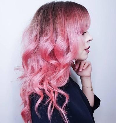 Bubblegum Rose Hair Color (warm Rose Pink) In 2019