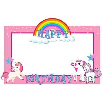 Buy Party Propz Unicorn Photobooth Frame (2ft) Online At Low
