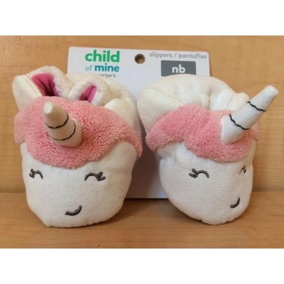 Unicorn Baby Slippers