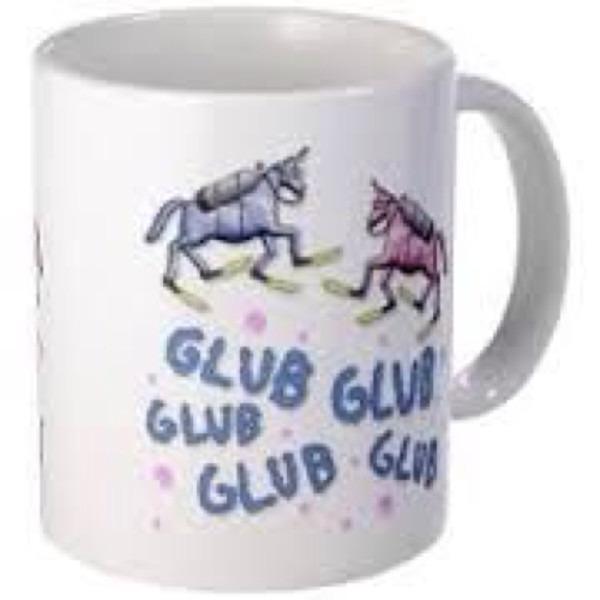Charlie The Unicorn Mug On The Hunt