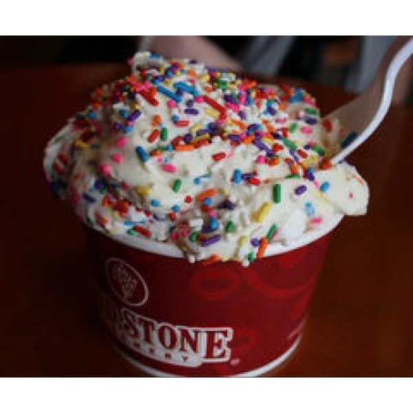 Cold Stone Ice Cream!
