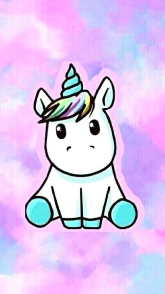 Cute Baby Unicorn Drawing