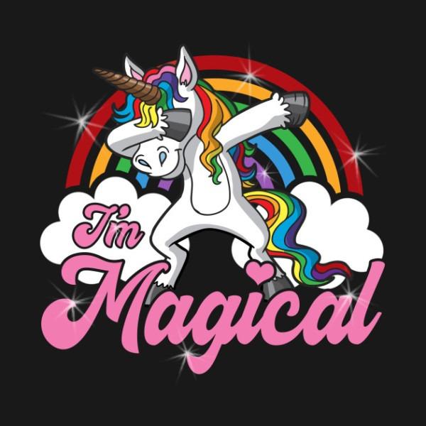 Dabbing Unicorn I'm Magical