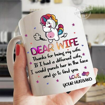 Deadpool Dear Wife Thanks For Being My Wife Love Wife Coffee Mug