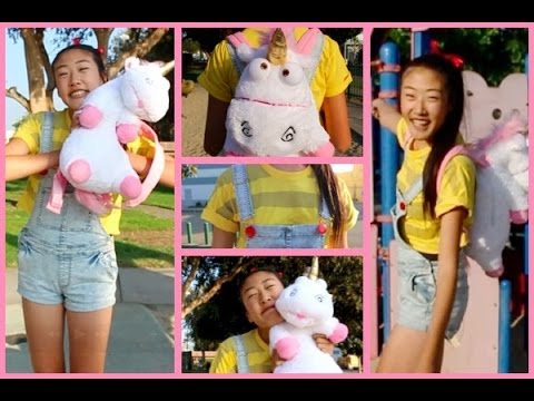 Diy Agnes From Despicable Me  Costume, Makeup, Hair! ♡