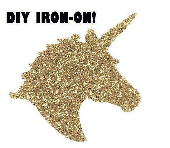 Diy Unicorn Iron On Vinyl Applique Decal Shirt By Wingsnthings13
