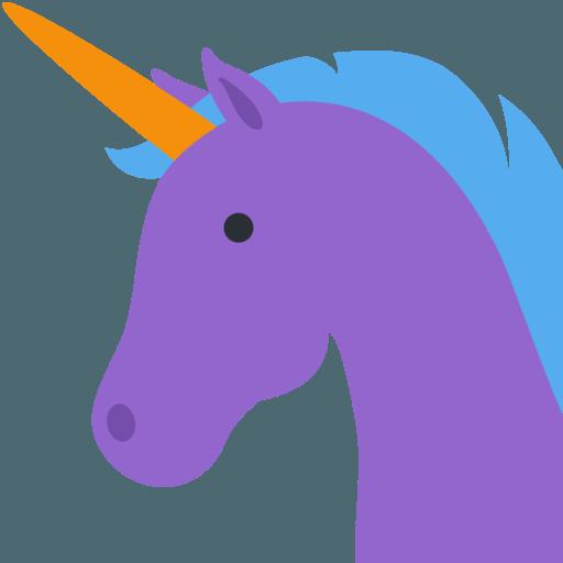 Emoji, Unicorn, Purple, Transparent Png Image & Clipart Free Download