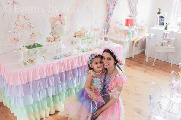 Enchanted Pastel Rainbow Fairy Birthday Party Ideas
