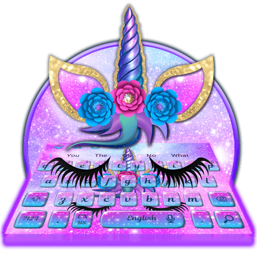 Floral Galaxy Unicorn Keyboard Theme 🦄  Amazon Ca  Appstore For