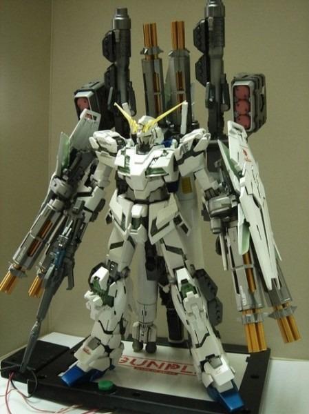 Free Shipping Tt Gg Gundam Model Mg 033 1   100 Full Armor Unicorn