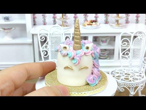 Full] Mini Unicorn Cake