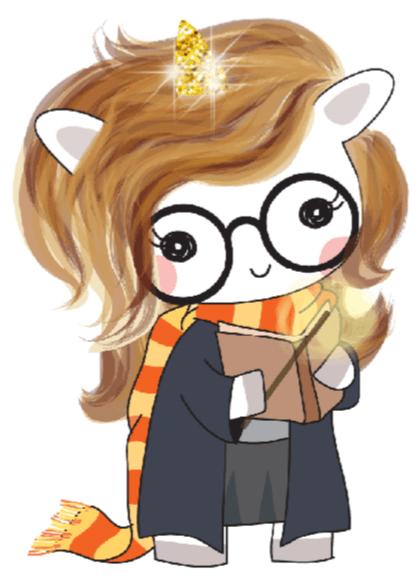 Harry Potter Unicorn Stickers On Storenvy