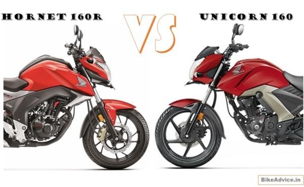 Hornet 160r & Unicorn 160