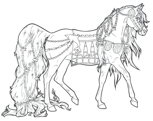 Realistic Unicorn Coloring Pages For Adults