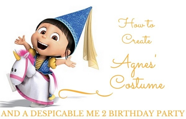 How To Create Agnes' Costume And Despicable Me 2 Birthday Party