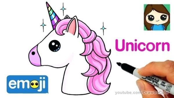 How To Draw A Unicorn Easy For Kids Unicorn Draw Drawing Easy Home