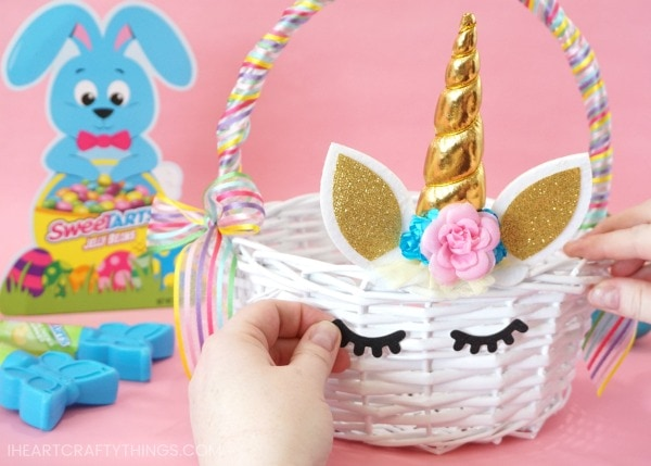 How To Make A Diy Unicorn Easter Basket