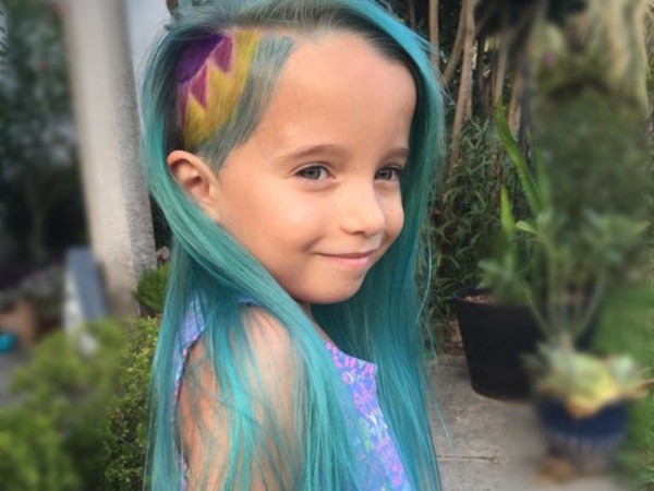 How Young Is Too Young To Let Your Kid Colour Their Hair