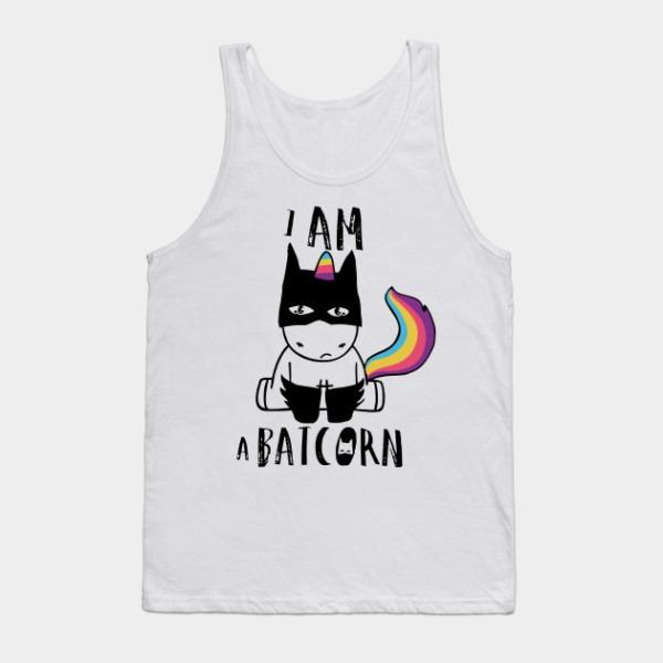I Am A Batcorn Dark Unicorn Superhero T