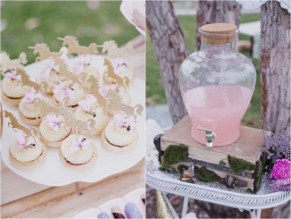 Kara's Party Ideas Rustic Fairies & Unicorns Birthday Party