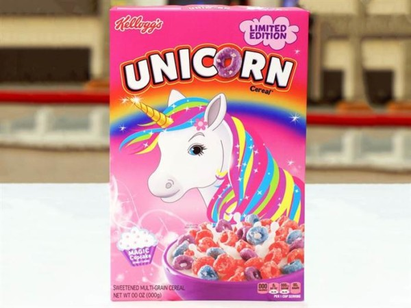 Kellogg's Releases Unicorn Cereal In Us