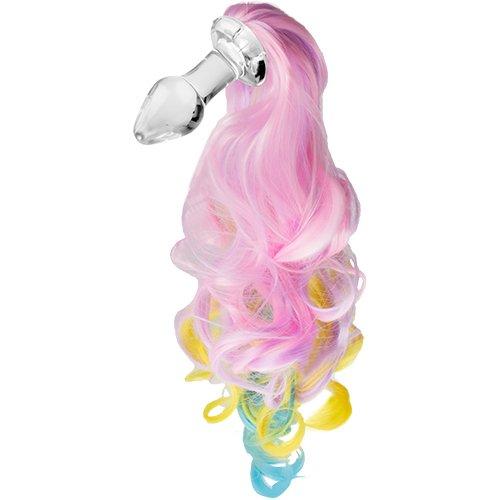 Kinky Tails Pastel Pony Glass Butt Plug