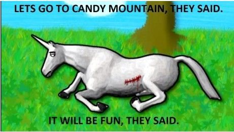 Let's Go To Candy Mountain, They Said