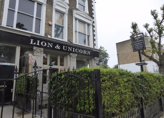 Lion And Unicorn Pub, London