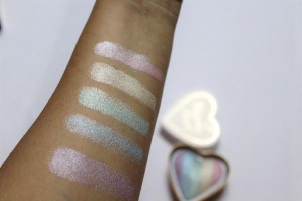Makeup Revolution I Heart Makeup Unicorns Heart Highlighter Review