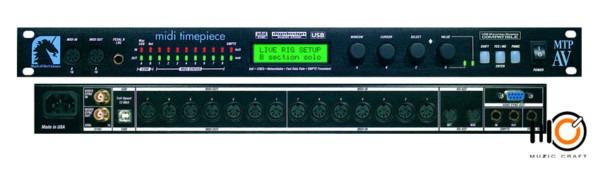 Midi Timepiece Av (1996) Mtp Av   8x8 Midi Interface
