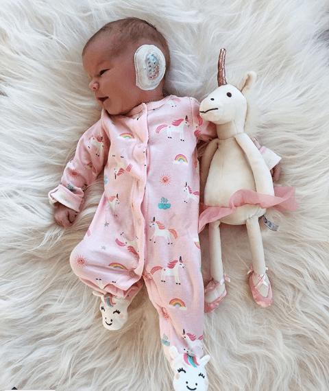Miller Unicorn Footie Pajama