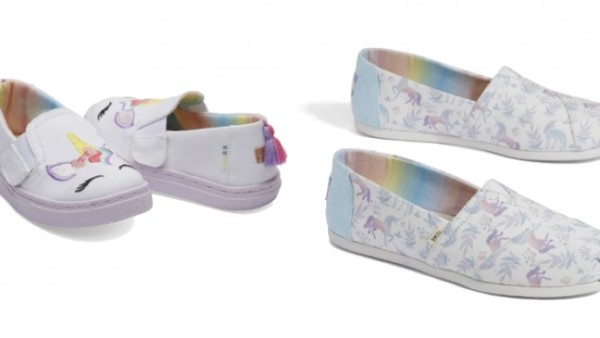 Mommy And Me Unicorn Shoes Now Available @ Toms