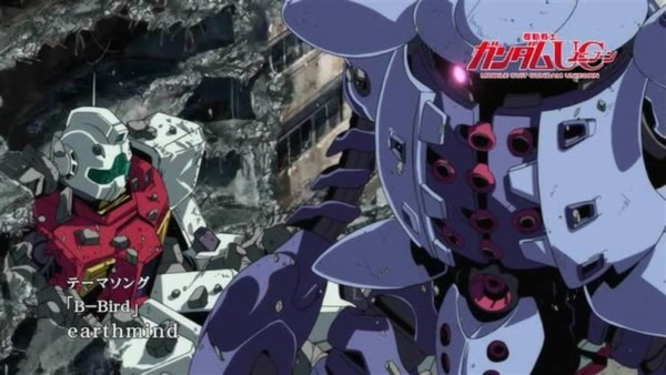 "Ms Gundam Unicorn Episode 4 ""at The Bottom Of The Gravity Well"