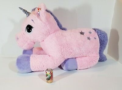 My Little Pony Jumbo Plush Unicorn Huge 4 Ft  Long By 3 Ft  Tall