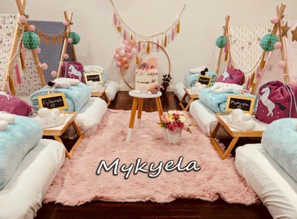 Mykyela's Unicorn Teepee Party
