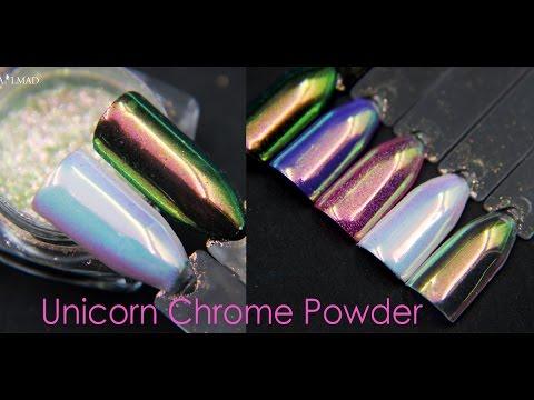 Nailmad Unicorn Chrome Powder Nail Chrome Powder