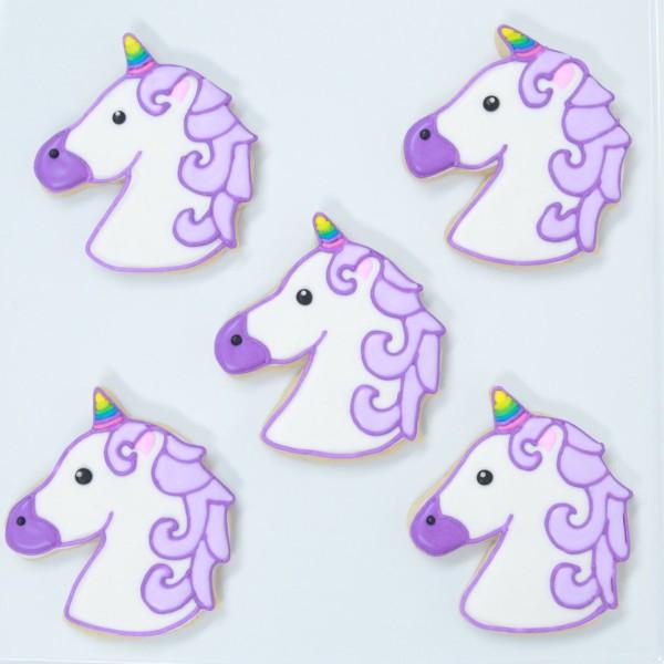 Nerdy Nummies On Twitter   Unicorn Emoji Cookies! 🦄🍪…